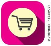 shopping cart icon vector logo...