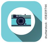 camera icon vector logo for...