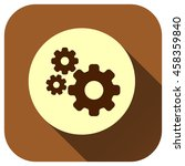 setting icon vector logo for...