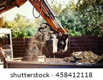 Industrial Backhoe Excavator...