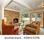 view of the living room area... | Shutterstock . vector #458415298