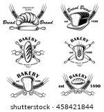 bakery badges element | Shutterstock .eps vector #458421844