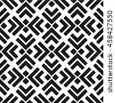 seamless geometric pattern.... | Shutterstock .eps vector #458427550