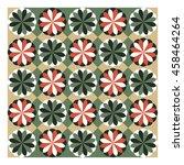 floral pattern  vector...   Shutterstock .eps vector #458464264