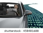 self driving electronic... | Shutterstock . vector #458481688
