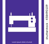 sewing machine icon | Shutterstock .eps vector #458490109