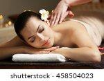 young beautiful woman having... | Shutterstock . vector #458504023