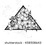 hand drawn vector illustration  ... | Shutterstock .eps vector #458508643