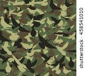 Camouflage Seamless Pattern ...