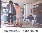 new modern technologies   Shutterstock . vector #458570278