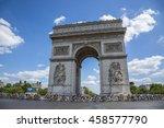 paris jul 24  the feminine... | Shutterstock . vector #458577790