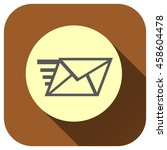send mail icon  vector logo for ...