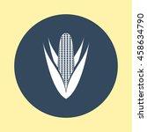 web icon of corn. | Shutterstock .eps vector #458634790
