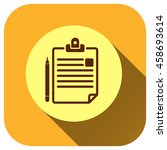 document vector icon  clipboard ...