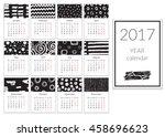 Calendar 2017 Year  A4 Cards...