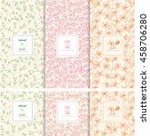 vector set of design elements...   Shutterstock .eps vector #458706280