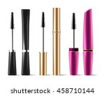 vector mascara brush makeup... | Shutterstock .eps vector #458710144