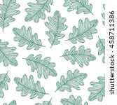seamless pattern with hand... | Shutterstock .eps vector #458711386