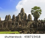 Bayon Temple. The Ancient Ston...