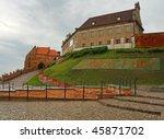 City of Grudziadz in Poland - stock photo