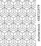 futuristic illusive abstract... | Shutterstock . vector #458721979