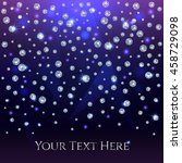 glamorous banner for your text... | Shutterstock .eps vector #458729098