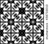 abstract seamless pattern of... | Shutterstock .eps vector #458733010