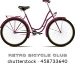 The Classic Bicycle. Retro...