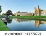 Clare College At Golden Hour I...