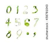 set numbers | Shutterstock .eps vector #458781043