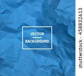 vector background. blue empty...   Shutterstock .eps vector #458832613