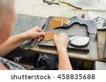 shoes factory | Shutterstock . vector #458835688