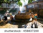 hanoi  vietnam  july 24  2016 ...   Shutterstock . vector #458837200