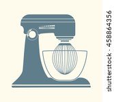 kitchen mixer icon. | Shutterstock .eps vector #458864356