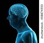 3d rendered medically accurate... | Shutterstock . vector #458874553