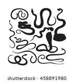 snake character wildlife nature ...   Shutterstock .eps vector #458891980