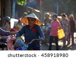 hoi an  vietnam   july 16  2016 ... | Shutterstock . vector #458918980