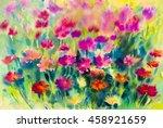 abstract watercolor original... | Shutterstock . vector #458921659