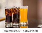 soda in a glass | Shutterstock . vector #458934628