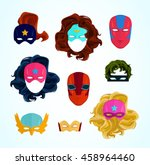 Comic Superhero Masks Set....