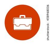 briefcase icon  | Shutterstock .eps vector #458968036
