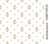 pattern with royal lily.... | Shutterstock .eps vector #458973919