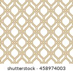 abstract pattern in arabian... | Shutterstock .eps vector #458974003