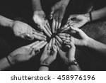 group of young people...   Shutterstock . vector #458976196