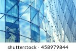 abstract reflection of modern... | Shutterstock . vector #458979844