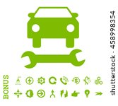 car repair glyph icon. image... | Shutterstock . vector #458998354