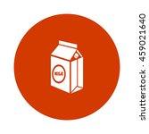 milk carton icon | Shutterstock .eps vector #459021640