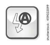 camera auto flash mode icon | Shutterstock .eps vector #459022099