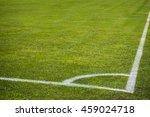 football soccer field corner... | Shutterstock . vector #459024718