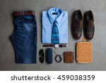 men's fashion  casual outfits... | Shutterstock . vector #459038359